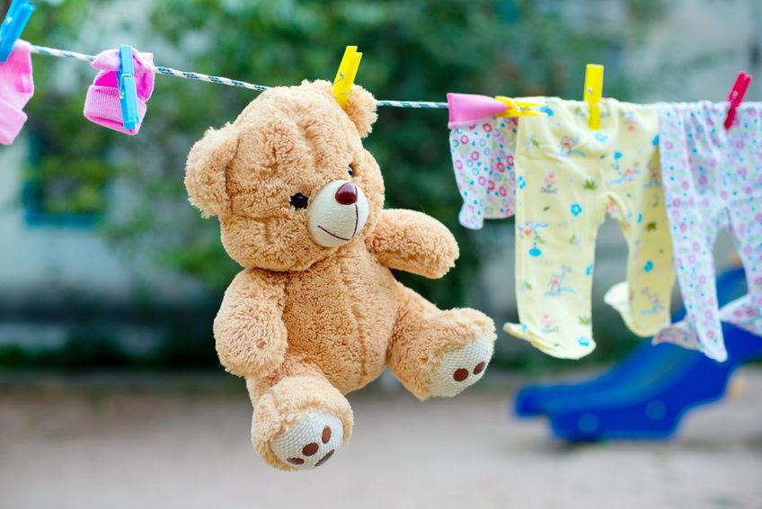 Как да почистите меките играчки